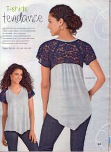 Modèle 42 du Tendances Couture Simplicity n°20