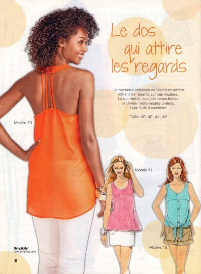 Modèle 11 du Tendances Couture 17